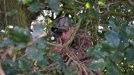 Good concealment is essential be it a hide, or a bush, you need to remain hidden.