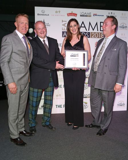 Sinclair's Kitchen were crowned Scottish Champion at the Eat Game Awards 2018