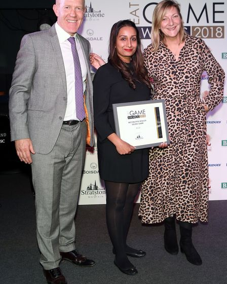 Aldi won Best Multiple Retailer at the Eat Game Awards 2018 at Boisdale of Canary Wharf
