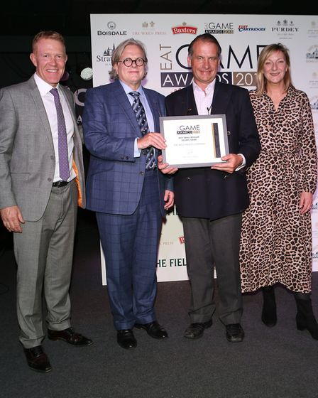 The Wild Meat Company won Best Small Retailer at the Eat Game Awards 2018