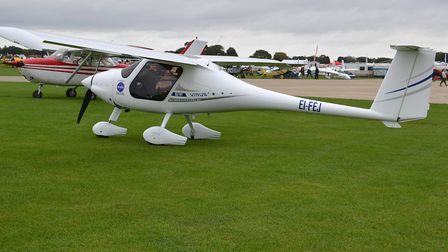 Pipistrel Virus 912 at the Light Aircraft Association Rally, Sywell (c) Alec Wilson, Flickr (CC BY 2