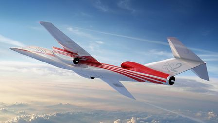 Aerion's GC artwork shows the AS2 in flight