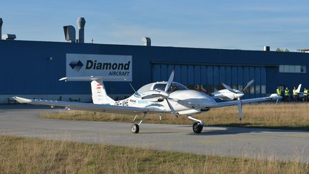 The multi-engine hybrid electric aircraft is ready to take off for its maiden flight