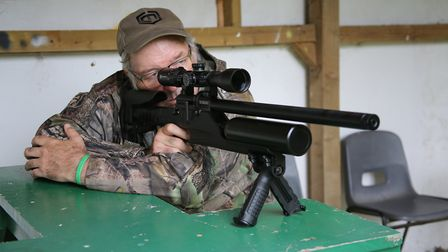 Happy on the bench, with full, hunting standard accuracy.
