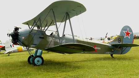 A Polikarpov Po-2, similar to the aircraft operated by the Night Witches © Douzeff, Wikipedia