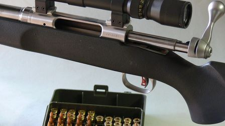 Savage LRPV fitted with 1:9 optional barrel.