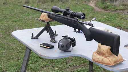 Tikka T3 in 6.5 X 55mm is accurate with long 140gn and 160gn flat base protector point projectiles i