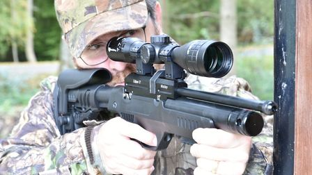 In confined spaces this rifle really shines