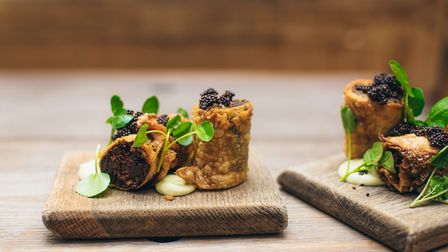 These venison cigars look incredible, try them at The Rabbit