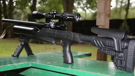 The Webley En4cer 12. Silly name - seriously impressive rifle.