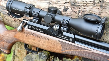 A sensible weight rifle needs a modest scope like the Mamba Lite from MTC