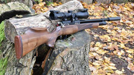 Im not a fan of looking at gauges on the side of a rifle, let alone looking at two, so I applaud Day