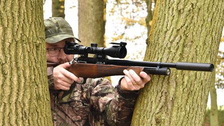 Hero shot. This is a hunting gun for the connoisseur of the well crafted rifle