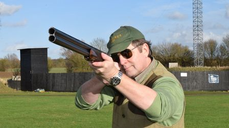 Mike has shot more guns than most have had hot dinner, and these particular ones come with the Yardl