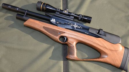 Air Arms were late to the bullpup party, but the Galahad is impressive