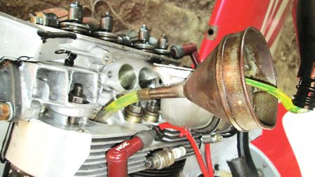Filling a VW's Cylinders 1