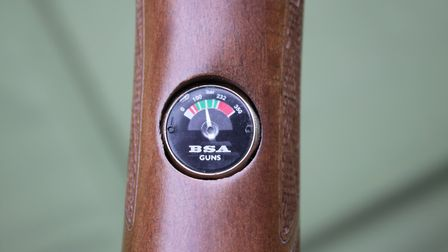 A filler gauge lets you know how much air you have left.