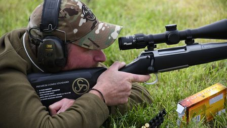 7. Fantastic stock ergonomics make the 308 a pussycat with perfect head and trigger position from th