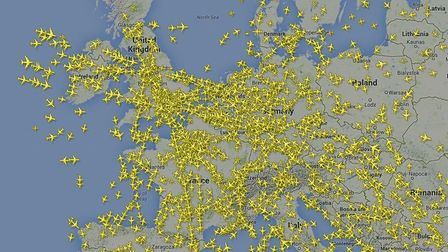 Aircraft over Europe this summer