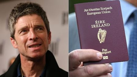 Noel Gallagher has revealed that he applied for an Irish passport 'immediately' after the UK voted t