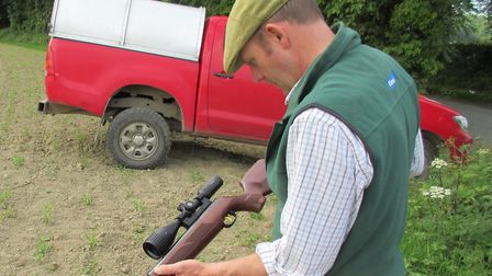 Most farmers enjoy shooting, but not all