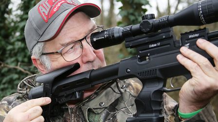 I continually adjusted the cheekpiece - then replaced the scope mount and started all over again! .