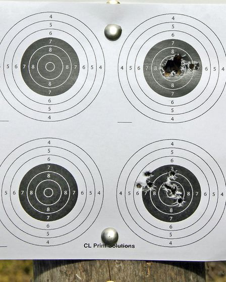 Some pellets are better than others in any given rifle.