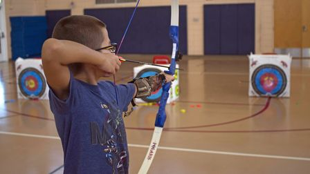 Archery is seen as fine for children. Why not air guns?