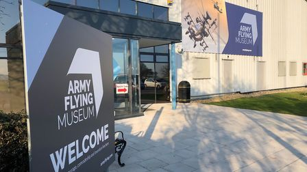 Army Flying Museum new entrance