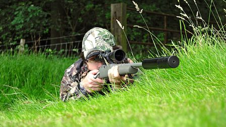 With a moderator fitted, recoil is not a major issue in light calibres
