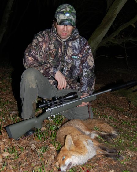 Phil has found the .243 effective for foxing but not quite perfect