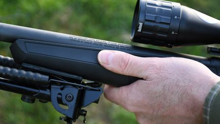 4. No problem shooting from a bipod with a floating barrel