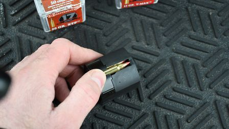 5. The ten round magazine works well but a little tight when loading so take care until you get the