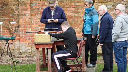 Every gun has to pass the club's chrono test first