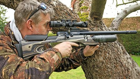 This rifle is a hunter's dream!