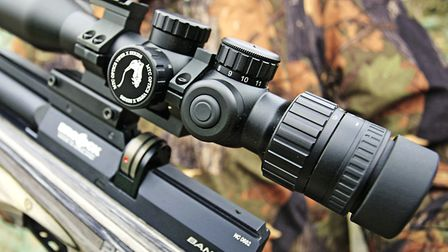 The MTC Viper scope is the perfect match for the Bantam
