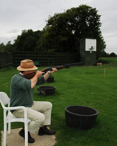 practicing sitting on a skeet range (with permission) will improve your hide technique