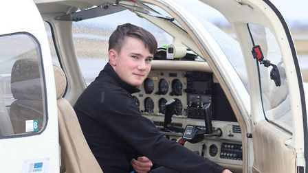 Maksim Ferguson becomes youngest Briton to fly solo