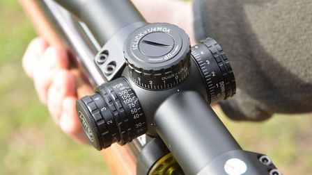 The exposed adjuster drums lock to ensure that your zero cannot be lost.