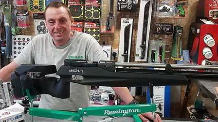 Nick is a great guy, and he loved chatting about all things airgun