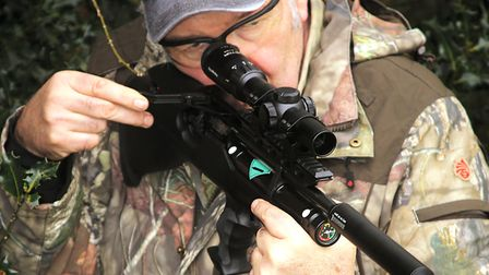 Handling is fast, sure and easy. Just how a hunting rifle should be.