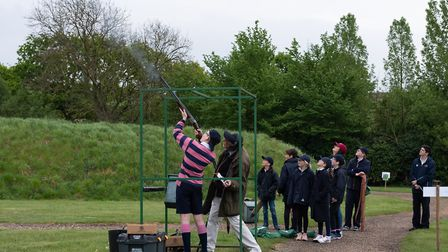 The 2019 IAPS Championships held at West London Shooting School