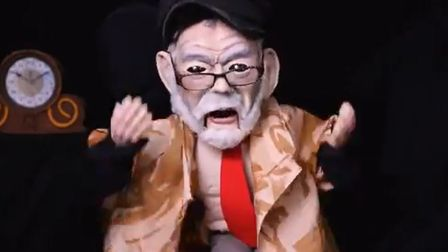 The Liberal Democrats have released a video portraying Jeremy Corbyn as a puppet. Picture: Lib Dem P