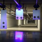 Police and military training can be hosted with realistic 'distraction' lighting