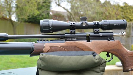The closer your scope sits to the barrel, the less you'll need to aim off at close range - and vice-