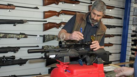 The shop has in-house expertise to make sure your new gun is set up correctly.