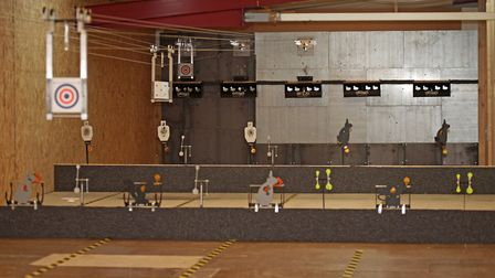 This is one of the most comprehensive indoor ranges Dave has visited.