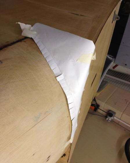 Fournier Resurrection Part 3: re-covering the fuselage