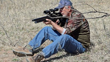 A .25, .30, or .35 are good calibres for this type of open-ground shooting
