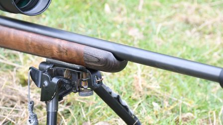 2. Laminated tip to the forend seems a little unnecessary and out of character but each to their own